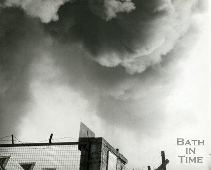 The great fire at Avon Rubber, Melksham, 1966