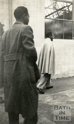 Haile Selassie Emperor of Ethiopia visiting Bath, c.1936