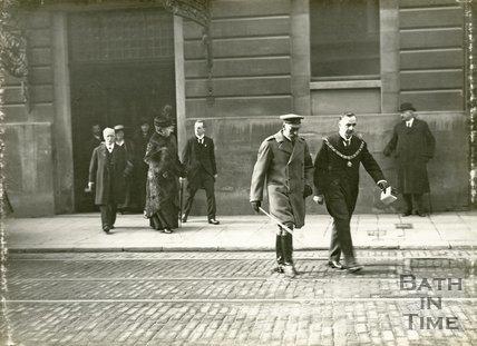Visit of King George V to Bath, November 9th 1917