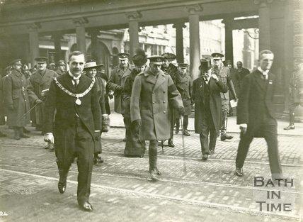 King George V's Visit to Bath, November 9th, 1917
