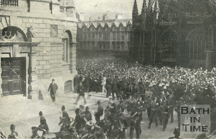 Visit of Lord Roberts to Bath, 1902