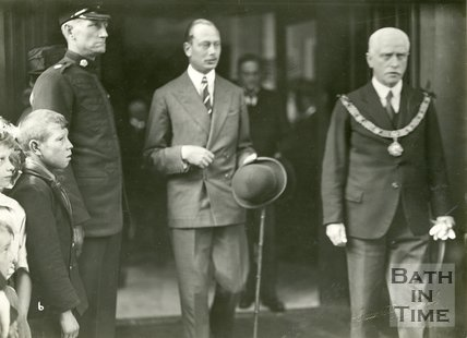 The Duke of Gloucester's Visit to Bath 1931