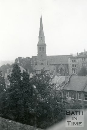 St Matthews Church, Widcombe, Bath, October 1959
