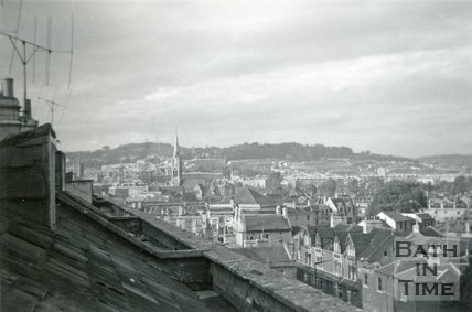 View of Bath looking north, September 1959