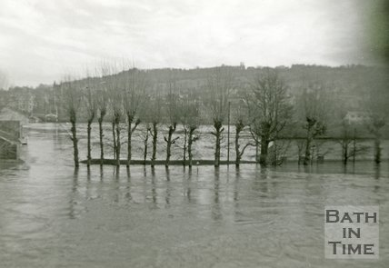 Bath Recreation Group during the Bath Flood of 1960