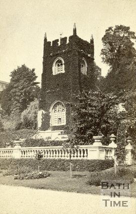 St. Thomas à Becket Church, Widcombe, Bath c.1870
