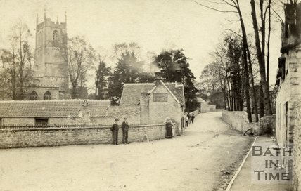 The church, Wotton-under-Edge, Gloucestershire 1868