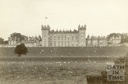 Floors Castle, Roxburghshire c.1868