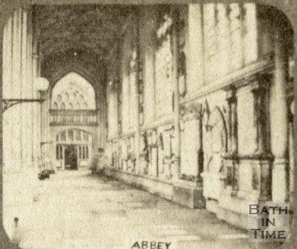 Interior of Bath Abbey, Bath c.1863