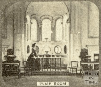 The Mineral Water Fountain, Pump Room, Bath c.1863