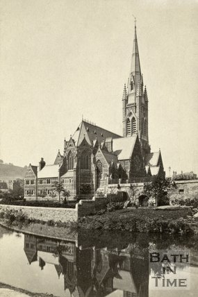 St. John's Roman Catholic Church, Bath c.1868