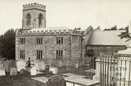 St. Swithun's Church, Bathford c.1868