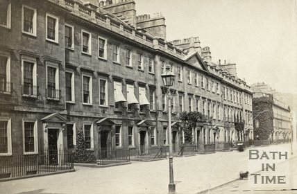 South Parade, Bath c.1868