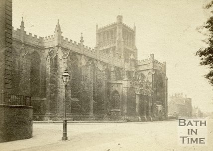 Bristol Cathedral c.1867