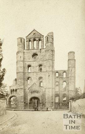 Kelso Abbey, Roxburghshire c.1868