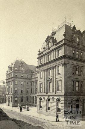 The Grand Pump Room Hotel, Stall Street, Bath c.1868