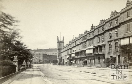Raby Place, Bathwick Hill, Bathwick, Bath c.1868