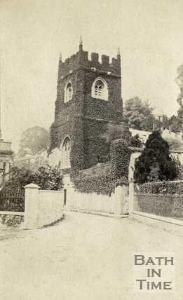 St. Thomas à Becket Church, Widcombe, Bath c.1864