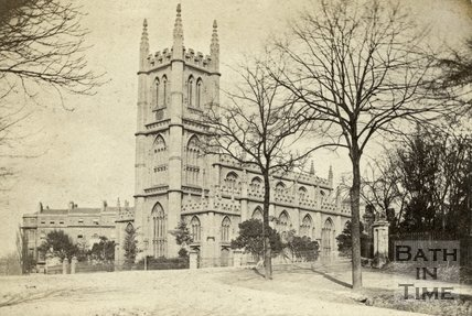 St. Mary's Church, Bathwick, Bath 1867