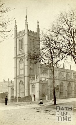 St. Mary's Church, Bathwick, Bath c.1866