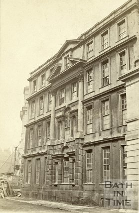 The United Hospital, Lower Borough Walls, Bath c.1860