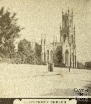 St. Stephen's Church, Bath c.1868