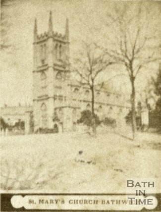 St. Mary's Church, Bathwick, Bath c.1868