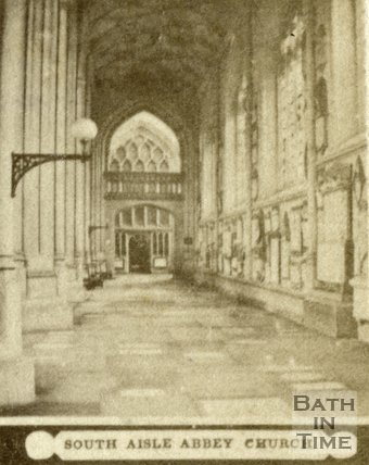 South aisle, Bath Abbey, Bath c.1868
