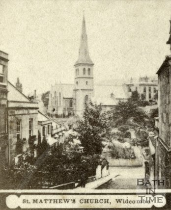 St. Matthew's Church, Widcombe, Bath c.1868
