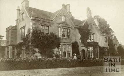 Large country house in Limpley Stoke, near Bath, c.1870