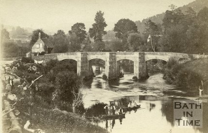 Stokeford Bridge, Limpley Stoke c.1870