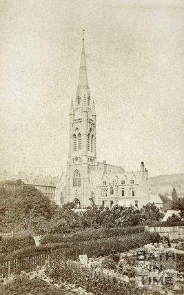 St. John's Roman Catholic Church, Bath c.1870