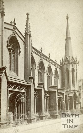 Holy Trinity Church, James Street, Bath c.1870