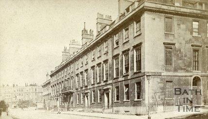 Alfred Street, Bath c.1870