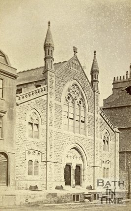 Hay Hill Chapel, Fountain Buildings, Bath c.1870