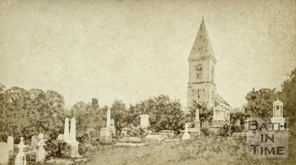 Bath Abbey Cemetery, Bath c.1870