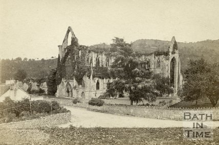 Tintern Abbey, viewed from the south west, Monmouthshire c.1865