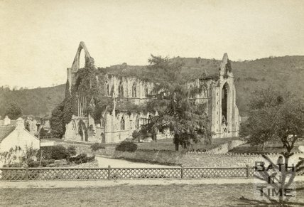Tintern Abbey, viewed from the south west, Monmouthshire 1869