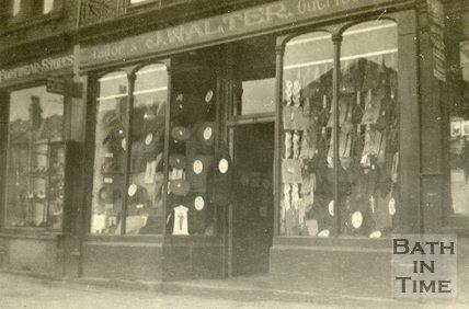 J Walter, tailor, 77, Lower Bristol Road, Bath c.1920?