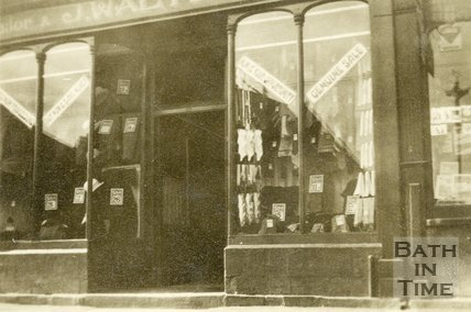 J. Walter, tailor, 77, Lower Bristol Road, Bath c.1920?
