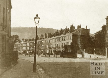 View of Dunsford Place down Bathwick Street, Bath, c.1900