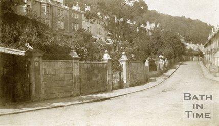 Upper Camden Place, Camden Road, Bath 1917