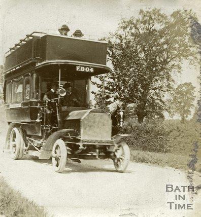 A Bath Tramways bus c.1905