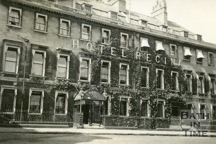 The Regina Hotel, Bennett Street, Bath c.1930
