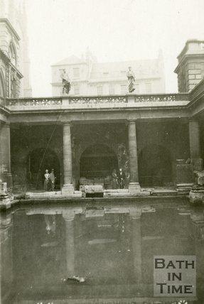The Roman Great Bath, Bath 1932