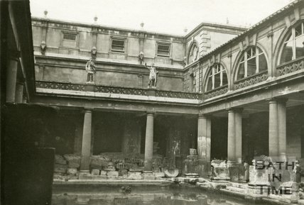 The Roman Great Bath, Bath 1932