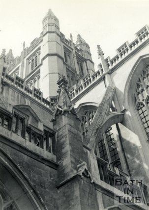 Bath Abbey, Bath c.1960