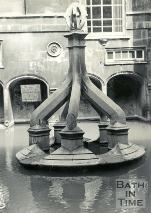 The King's Bath, Bath c.1960