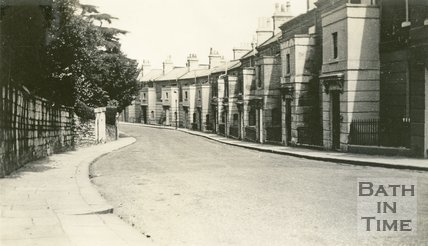 Berkeley Place, Camden Road, Bath c.1930