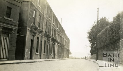 Berkley Place and City View, Camden Road, Bath c.1930